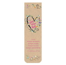 Christian Brands F1313 Magnetic Bookmark - Love Never Fails