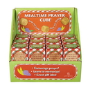 Gifts of Faith F1397 Mealtime Prayer Cube Display - 24 Pcs