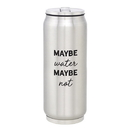 Christian Brands F1413 Large Stainless Steel Can - Maybe Water