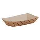 Christian Brands F1436 Hot Dog Tray - Polka Dot