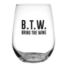Christian Brands F1447 Stemless Wine Glass - B.T.W.