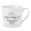 Faithworks F1502 Cafe Mug - Blessed Are The Merciful