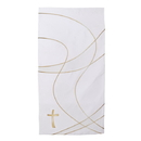 RJ Toomey F1733 Everyday Pulpit Scarf - White