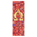 Christian Brands F17543X9P Stained Glass A&O Bnnr:3'x9'