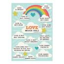 Christian Brands F1807 Large Poster - Love Never Fails