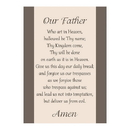 Christian Brands F1808 Large Poster -  Our Father