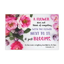 Christian Brands F1812 Small Poster -  Flower Doesn'T Compete