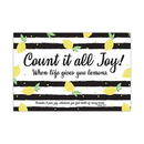 Christian Brands F1813 Small Poster - Count It All Joy