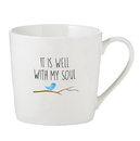 Faithworks F1817 Cafe Mug - It Is Well With My Soul