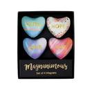 Christian Brands F2174 Magnanimous Gift Set-C - Faith Hope Love - Set Of 4 Magnets