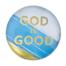 Christian Brands F2190 Magnanimous Round Magnet-C - God Is Good