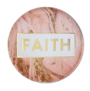 Christian Brands F2194 Magnanimous Round Magnet-C - Faith