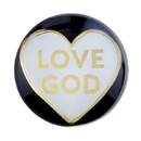 Christian Brands F2195 Magnanimous Round Magnet-C -Love God