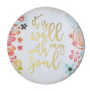 Christian Brands F2197 Magnanimous Round Magnet-C - It Is Well