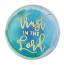 Christian Brands F2198 Magnanimous Round Magnet-C - Trust In The Lord