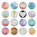 Christian Brands F2202 Pack Smart - Magnanimous Round Magnets-C - 32pcs