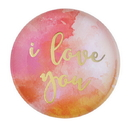 Christian Brands F2203 Magnanimous Round-Magnet-G - I Love You
