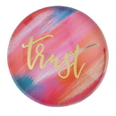 Christian Brands F2210 Magnanimous Round-Magnet-G - Trust