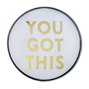 Christian Brands F2212 Magnanimous Round-Magnet-G - You Got This