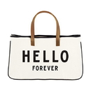Christian Brands F2714 Canvas Tote - Hello Forever
