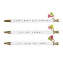 Christian Brands F2750 Tassel Pen - Cupcake Birthday