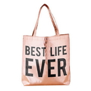 Christian Brands F2770 Rose Gold Tote - Best Life Ever