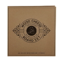 Christian Brands F2839 Cardboard Book Set - Wood Cheese Board