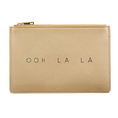 Christian Brands F2877 Fashion Pouch - Ooh La La - Gold