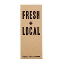 Christian Brands F2886 Weekly Meal Planner - Fresh + Local