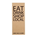Christian Brands F2907 Weekly Meal Planner - Eat Local