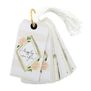 Christian Brands F2932 Gift Tag Book - Wedding