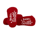 Stephan Baby F2984 Socks - Baby It'S Cold Outside, 3-12 Months