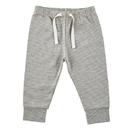 Stephan Baby F2999 Pants - Cream/Grey Stripe, 0-6 Months