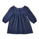 Stephan Baby F3018 Denim Dress, 6-12 Months