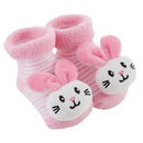 Stephan Baby F3022 Rattle Socks - Bunnie, 3-12 Months