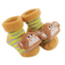 Stephan Baby F3023 Rattle Socks - Monkey, 3-12 Months