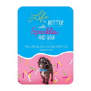 Christian Brands F3398 Verse Card - Life is Better with Sprinkles