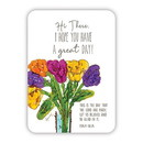 Christian Brands F3407 Verse Card - Hi There