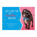 Christian Brands F3429 Postcard - Life is Better with Sprinkles