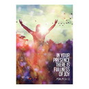Christian Brands F3441 Large Poster - In Your Presence there is Fullness of Joy