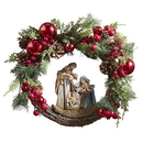 Christian Brands F3476 Nativity Wreath