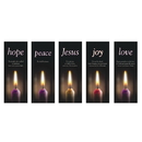 Celebration Banners F3640 ADV Candle X-Stand Bnnrs Set/5
