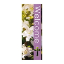 Celebration Banners F3661 Seasons Welcome Series X-Stand Banner - Spring