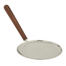Sudbury F3679 Stainless Steel Paten with Wood Handle