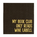 Christian Brands F3703 Cocktail Napkin - Book Club