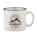 Christian Brands F3750 Campfire Mug - Grey - The Breweries are Calling