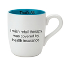 Christian Brands F3761B That's All® Mug - Retail Therapy