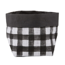 Christian Brands F3863 Washable Paper Holder - Medium - Buffalo Check