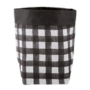 Christian Brands F3864 Washable Paper Holder - Large - Buffalo Check