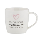 Christian Brands F3916 Cafe Mug - Love God Better
